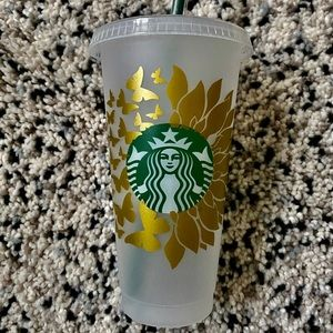 Customized Starbucks Cold Cup